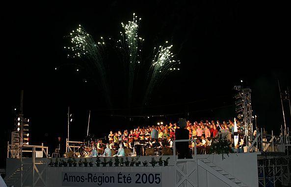 Réalisation des Cérémonies d'ouverture des Jeux du Québec